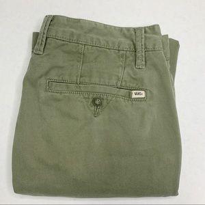 Vans Army Green Pants Size 30